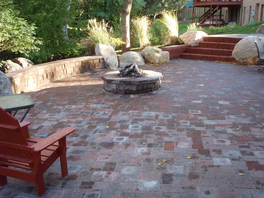 brick paver patios walkways lincoln ne dreamscapes inc